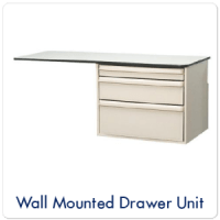 Wall Mounted Drawer Unit
