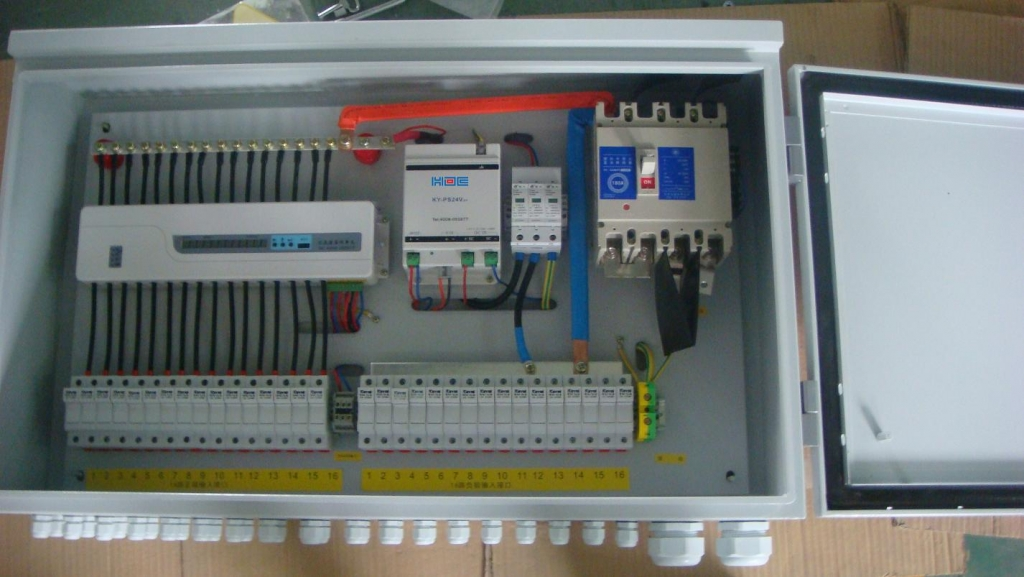 pv array wiring diagram toyota echo radio combiner box solar power distribution - board,circuit breaker,fish tape ...