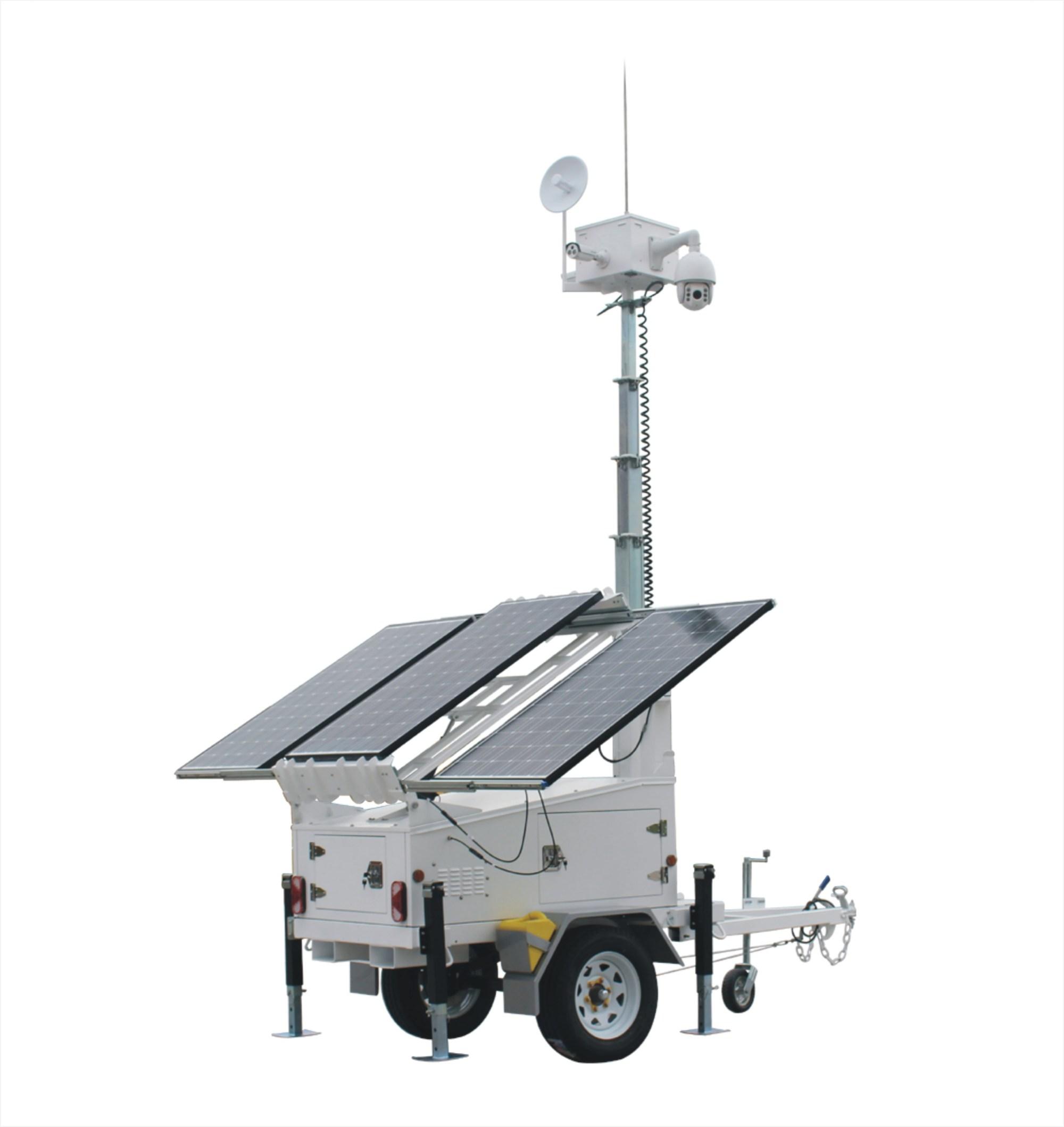 hight resolution of sv3300 4 ezitown solar led mobile light tower trailer manual mast raise dc 12v battery mast height 6 5m 150ah battery capacity