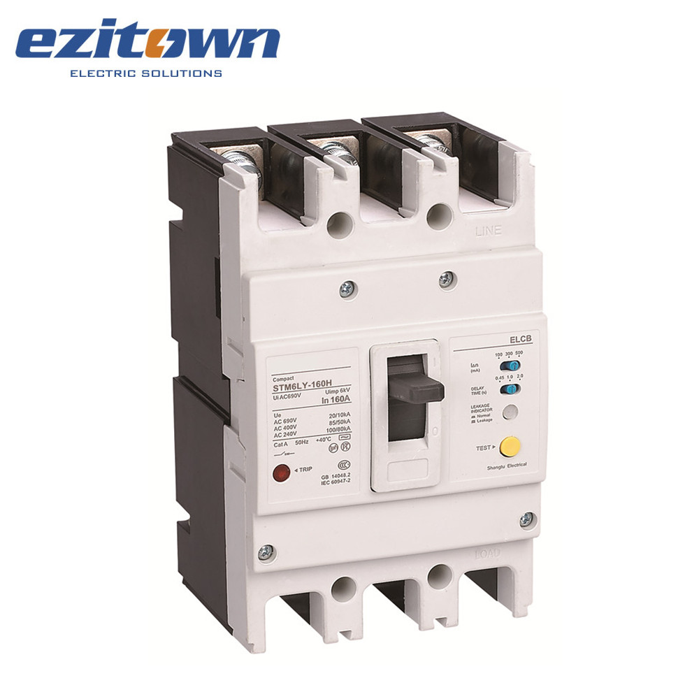 medium resolution of stm6ly series mccb electric moulded case residual current circuit breaker types