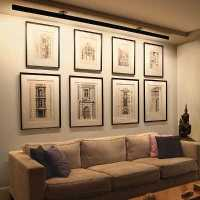 New Linear Led Art Lighting for big sized paintings