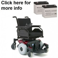 Quantum Wheelchair Wooden Childs Chair Rehab Power Replacement Batteries Pride Mobility 600 Series Battery 2