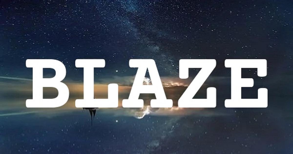 BLAZE英文名字意思