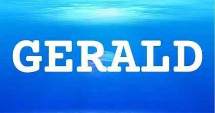 GERALD英文名字意思