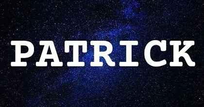 PATRICK英文名字意思