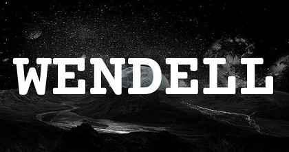 WENDELL英文名字意思
