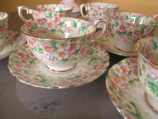 vintage crown china maytime 1920