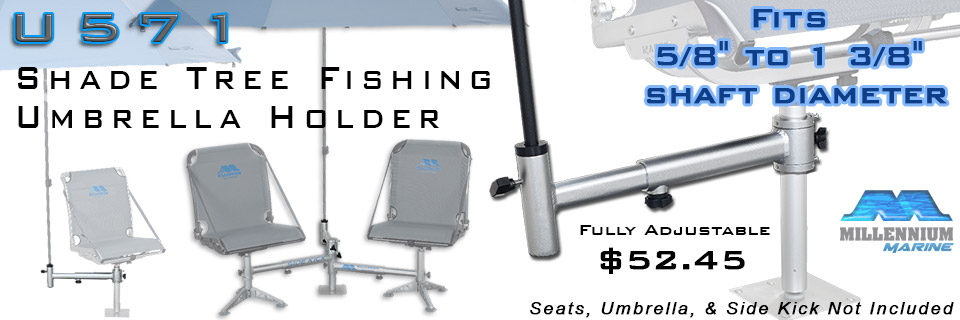 fishing chair umbrella holder swivel arm spyderlok e z pole products r300 rod transport rack u571
