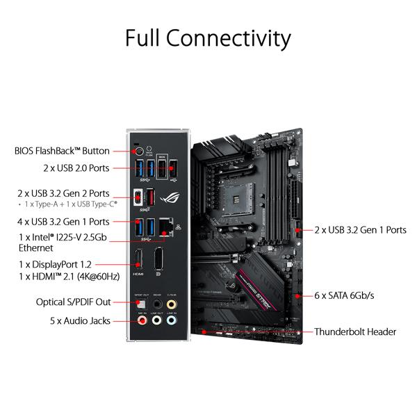 Asus ROG Strix B550 F Gaming Motherboard 5