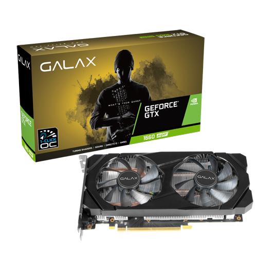 GALAX GeForce GTX 1660 Super 1 Click OC 6GB Graphic Card