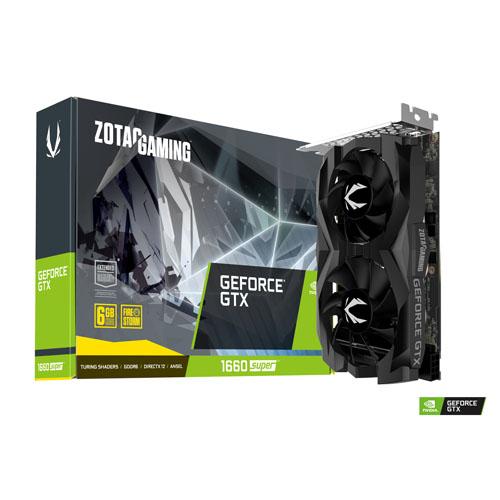 ZOTAC GAMING GeForce GTX 1660 SUPER Twin Fan 6GB