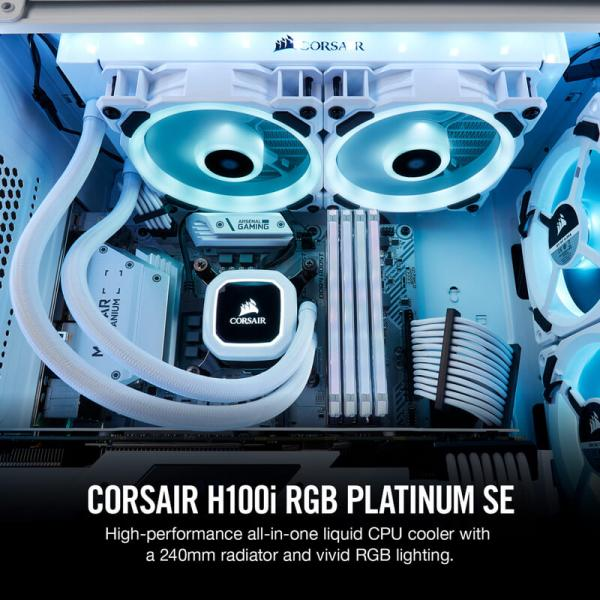 corsair h100i rgb platinum se 2