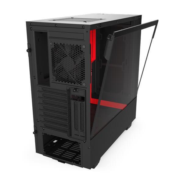 h510i matte black red 4