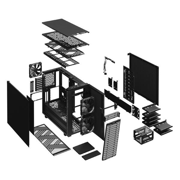 fractal design define 7 solid black 9