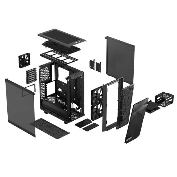 fractal design meshify 2 c light gray 9