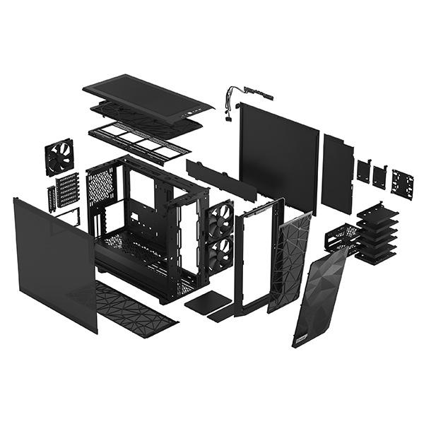 fractal design meshify 2 dark black 9