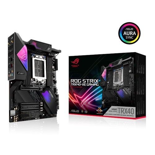 ASUS ROG STRIX TRX40 XE GAMING AMD TRX40 ATX Motherboard for 3rd Gen Ryzen Threadripper Series Processor