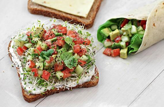 Meatless Monday California Sandwich