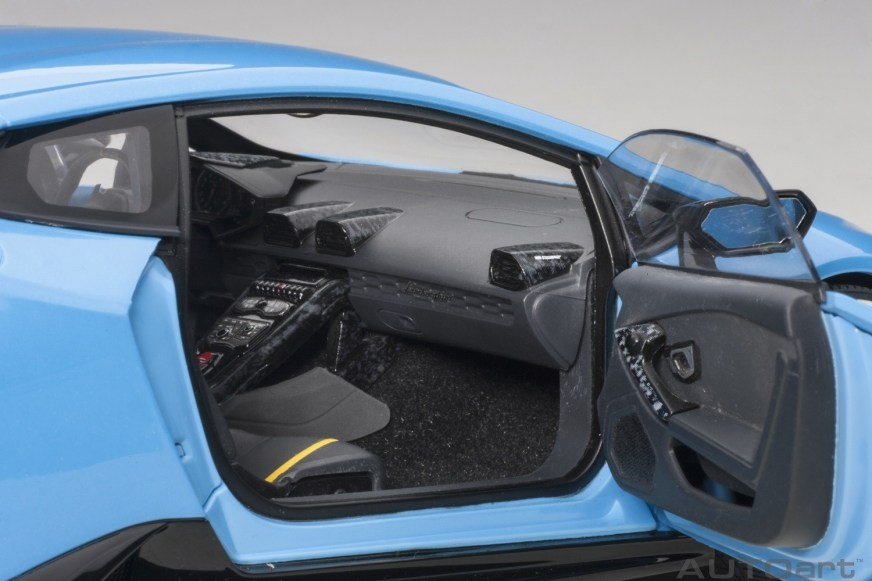 Lamborghini Huracan Performante Light Blue Cepheus AUTOart ...