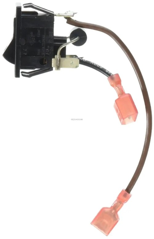 small resolution of oreck xl 2 speed 3 way power switch with leads 7532001oreck xl vacuum connector wire diagram