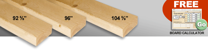 Common Dimensional Lumber Sizes