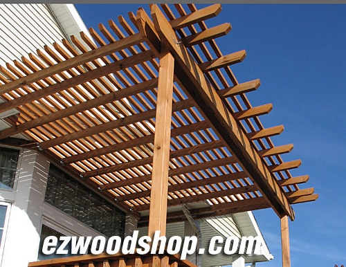 Pergola Plans How To Build A Pergola Attached To House