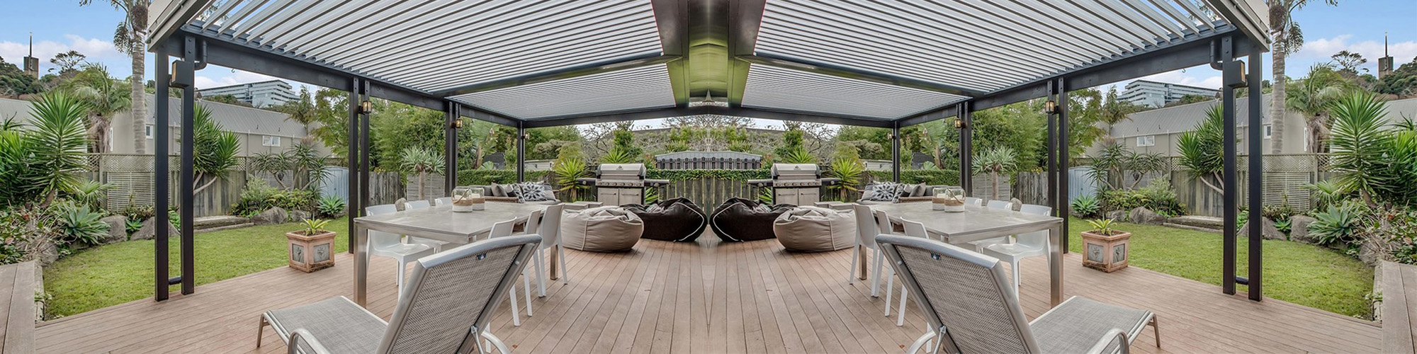 Pergolas   Add a Roof to Your Deck   EzyDeck