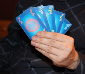 five card hanabi two player