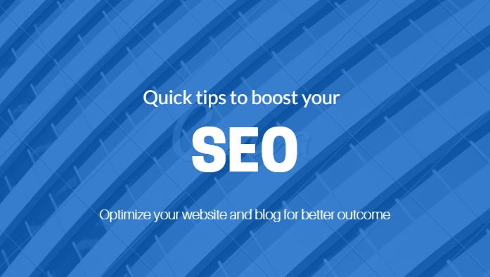 tips to boost your SEO