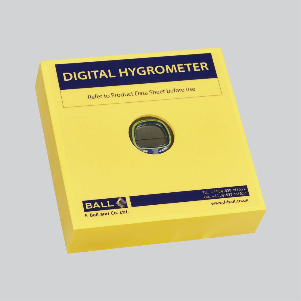 Digital Hygrometer  FBall  Co