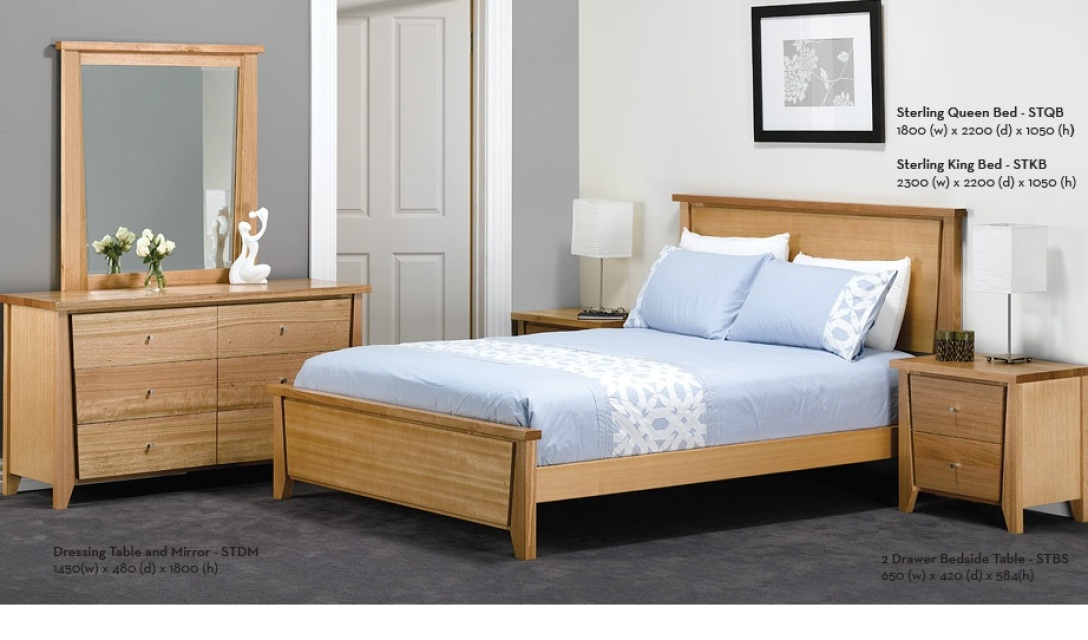 Queen Bed Matching Tall Boy And Bed Side Tables Extra Ring Or Email For Quote