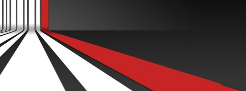 Cute Designs For Wallpapers Arrows 3d Red White Stripes Pattern Facebook Cover Timeline Photo