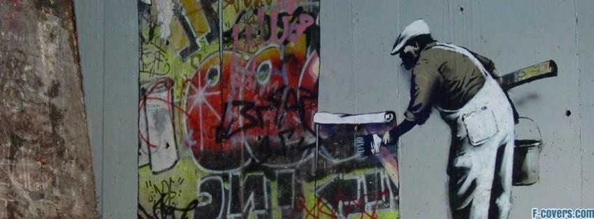 Hd Cute Panda Wallpaper Banksy Street Art Graffiti Wallpaper Facebook Cover