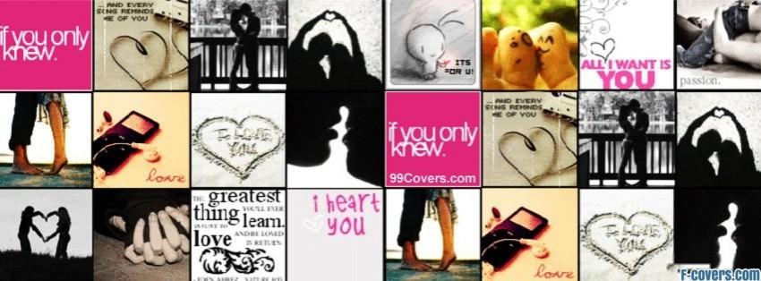 in love collage facebook