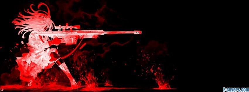 Gta Girl Gun Desktop Wallpaper Sniper Anime 2 Facebook Cover Timeline Photo Banner For Fb