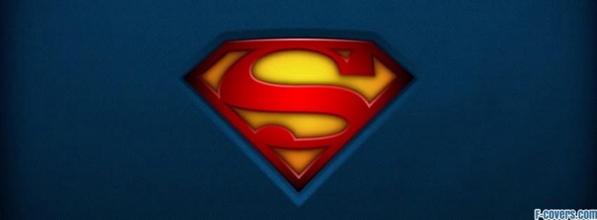 superman logo classic facebook