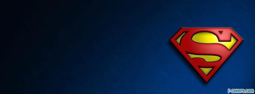 superman logo facebook cover