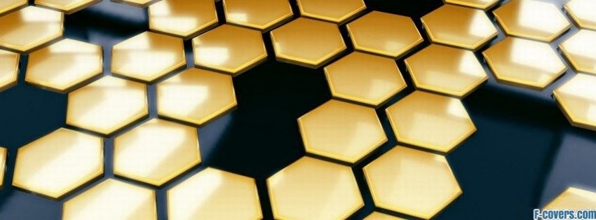 Lgbt Wallpaper Cute Yellow Black Hexagon Pattern Facebook Cover Timeline Photo