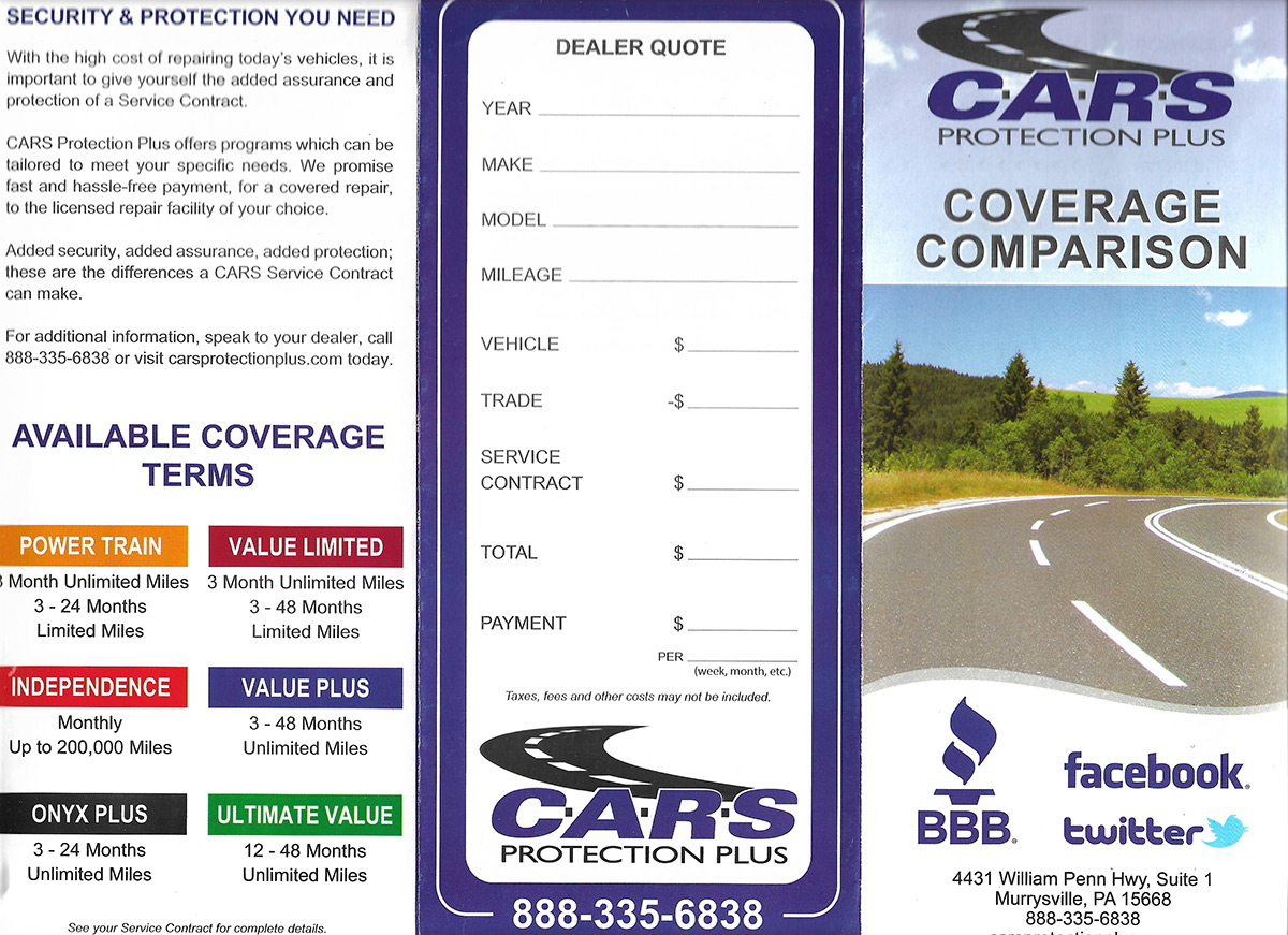 CARS Protection Plus
