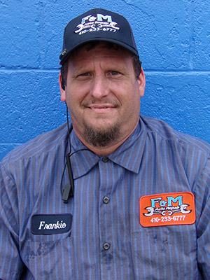 Frank - Lead Mechanic