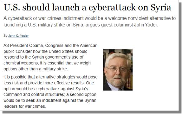 Afbeeldingsresultaten voor cyber attack syria
