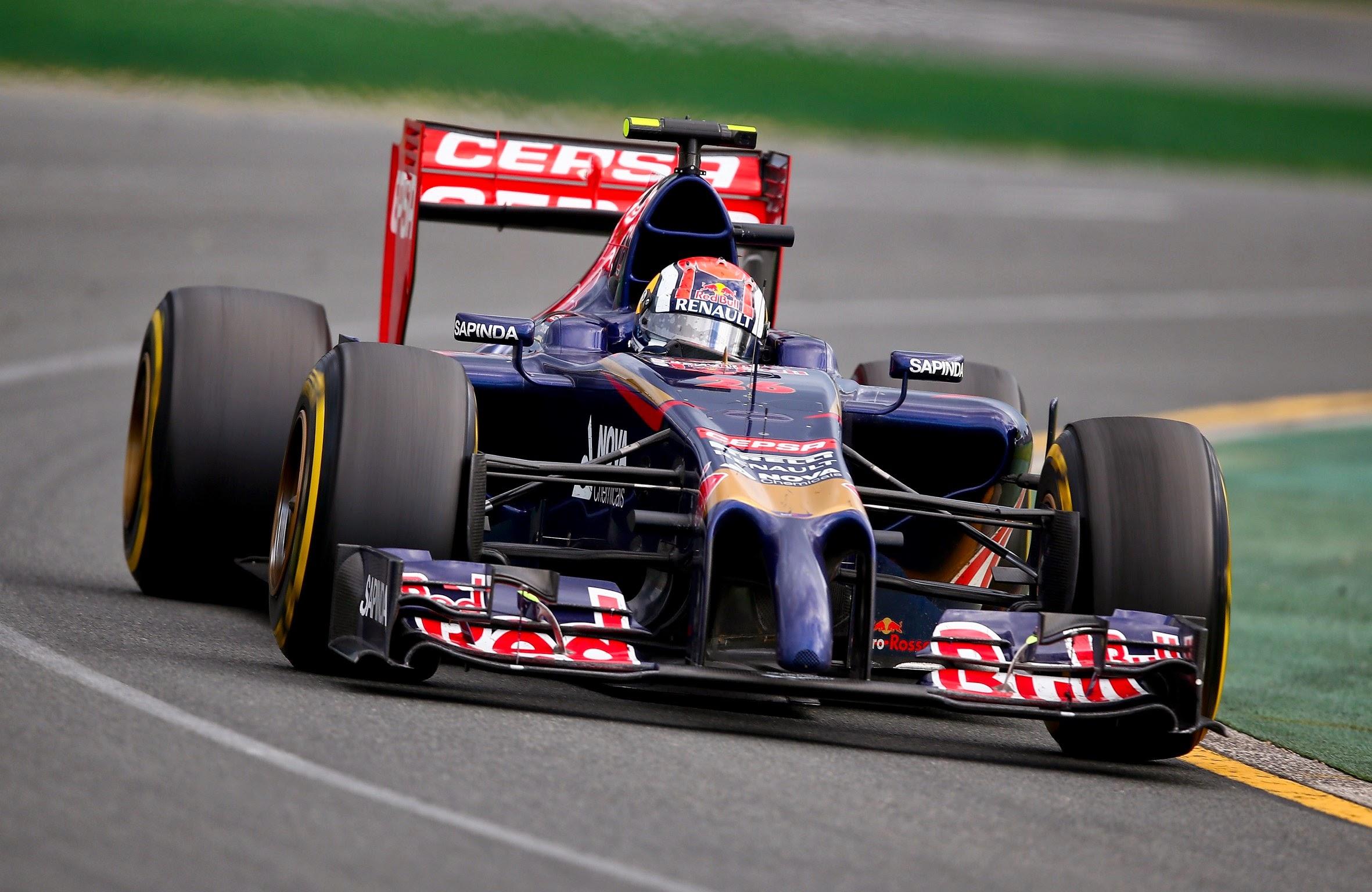 E Kvyat conseguiu quebrar o recorde de piloto mais jovem a pontuar em um GP