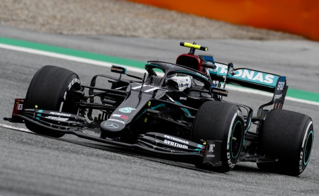 Pole Position Time Qualifying Results 2020 Austrian F1 Gp