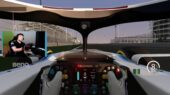 Williams Esports hot lap of the Bahrain Outer circuit