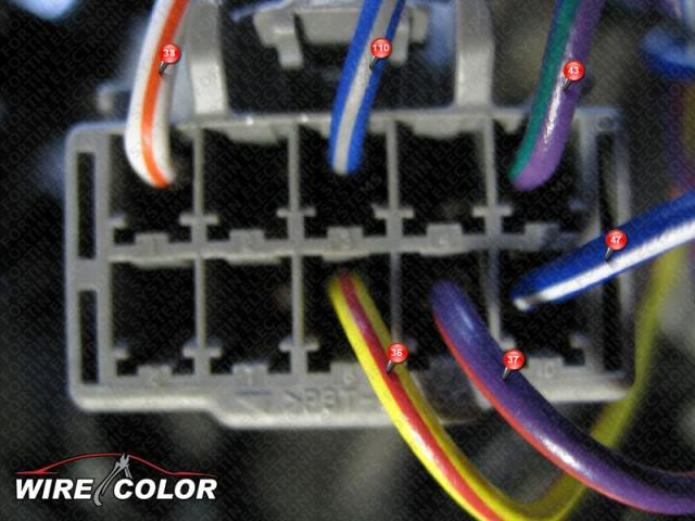 Car Alarm Wire Diagram Color