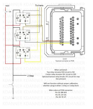 Trans brake wiring schematic, can somebody check this
