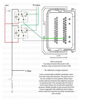 Trans brake wiring schematic, can somebody check this Mustang diagram vs the F150?
