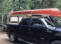 Homemade Kayak Rack For Truck Bed