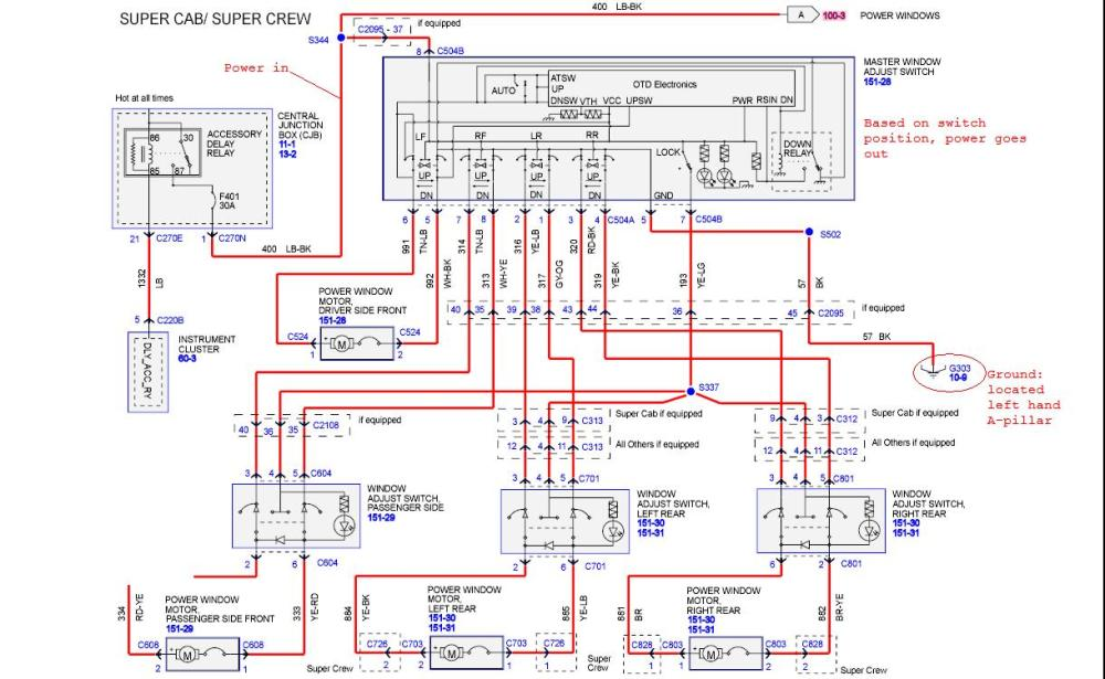 medium resolution of ford f 150 stereo wiring diagram wiring diagram third level 95 ford f 150 radio