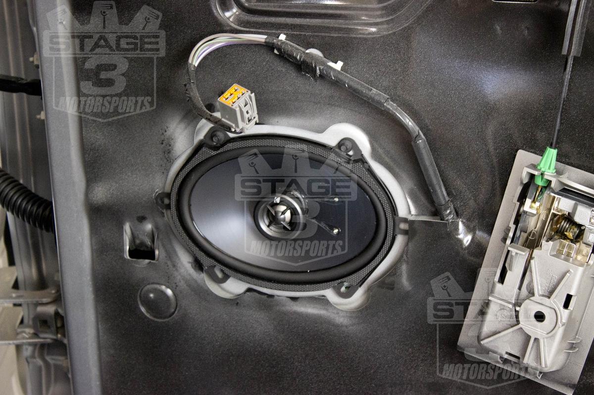 2013 Ford F 150 Radio Wiring Diagram 2011 F150 Crewcab Kicker Door Speaker Upgrade